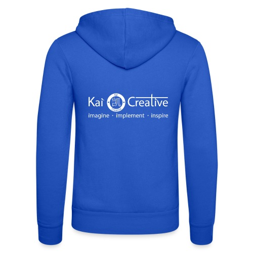 Classic Kai Creative Logo T-shirt - Unisex Hooded Jacket by Bella + Canvas