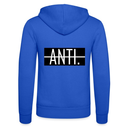 Anti Logo - Unisex Kapuzenjacke von Bella + Canvas