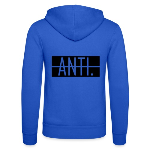 Anti Logo 2 - Unisex Kapuzenjacke von Bella + Canvas