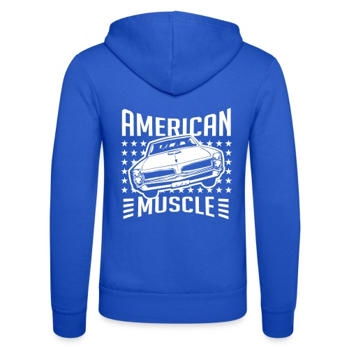 Pontiac GTO American Muscle - Unisex Hooded Jacket by Bella + Canvas