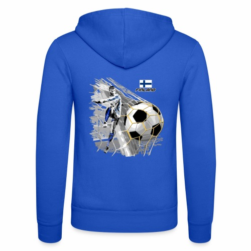 FP22F 05 FINLAND FOOTBALL - Unisex Bella + Canvas -hupputakki