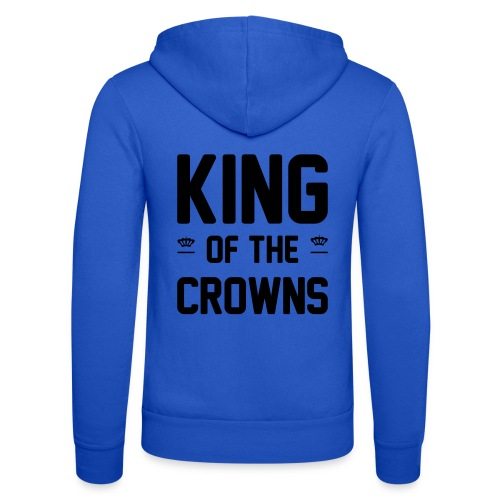 King of the crowns - Unisex hoodie van Bella + Canvas