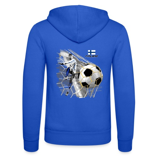 GP22F-05 FINLAND FOOTBALL PRODUCTS - Tuotteet - Unisex Bella + Canvas -hupputakki