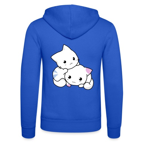 sweet cats - Unisex Kapuzenjacke von Bella + Canvas