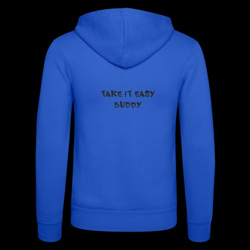 take it asy buddy - Felpa con cappuccio di Bella + Canvas