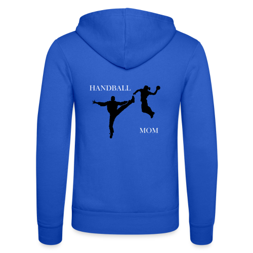 Håndball Mamma Collection - Unisex-hettejakke fra Bella + Canvas
