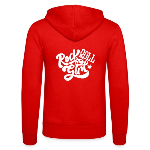 Rock n Roll Girl - Unisex Bella + Canvas -hupputakki