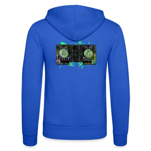 Electronic music t-shirts - Unisex Hooded Jacket by Bella + Canvas
