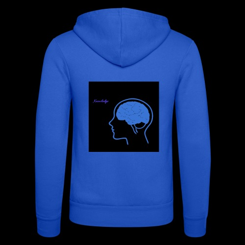 Knowledge - Unisex Hooded Jacket by Bella + Canvas