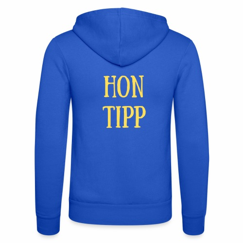 Hon Tipp - Unisex Hooded Jacket by Bella + Canvas