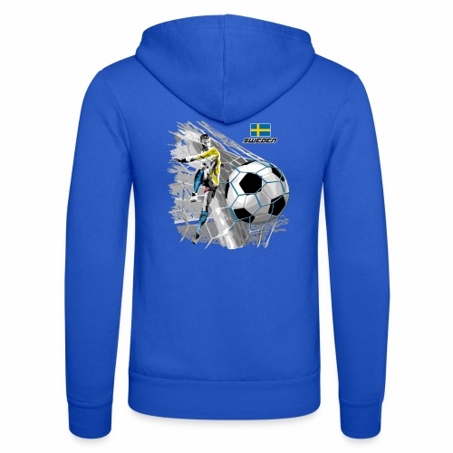 FP22F 16 SWEDEN FOOTBALL - Unisex Bella + Canvas -hupputakki
