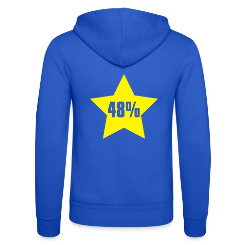 48% in Star - Unisex Hooded Jacket by Bella + Canvas