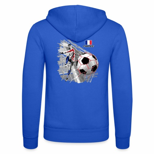 FP22F 03 FRANCE FOOTBALL - Unisex Bella + Canvas -hupputakki