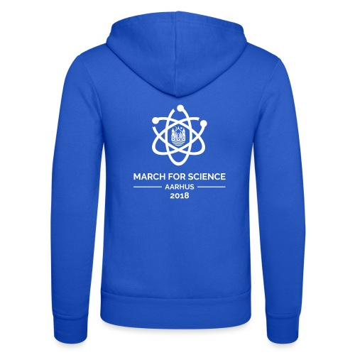 March for Science Aarhus 2018 - Unisex Hooded Jacket by Bella + Canvas