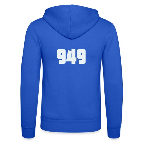 949withe - Unisex Kapuzenjacke von Bella + Canvas