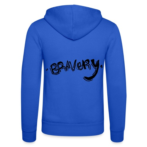 Bravery - Unisex Hooded Jacket by Bella + Canvas