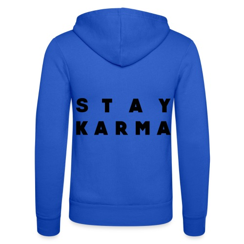 Stay Karma - Felpa con cappuccio di Bella + Canvas