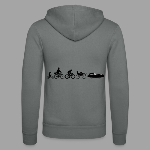 Bicycle evolution black Quattrovelo - Unisex Bella + Canvas -hupputakki