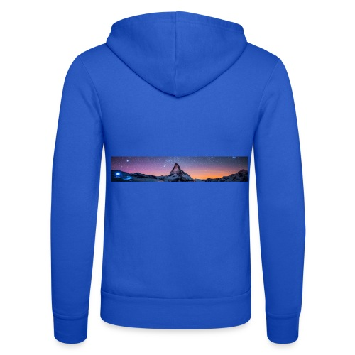 Mountain sky - Unisex Kapuzenjacke von Bella + Canvas