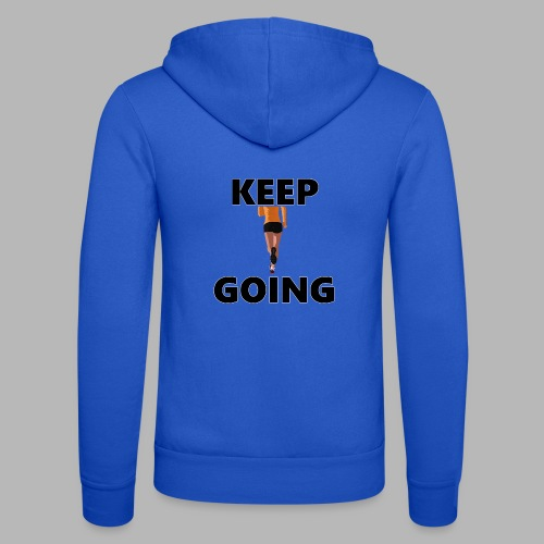 Keep going - Unisex Kapuzenjacke von Bella + Canvas