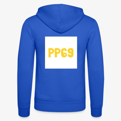 Pugs Plays69 Logo - Unisex Hooded Jacket by Bella + Canvas