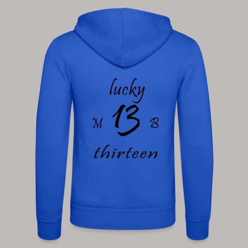 lucky 13 MB - Unisex Hooded Jacket by Bella + Canvas