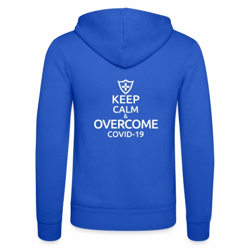 Keep calm and overcome - Bluza z kapturem Bella + Canvas typu unisex