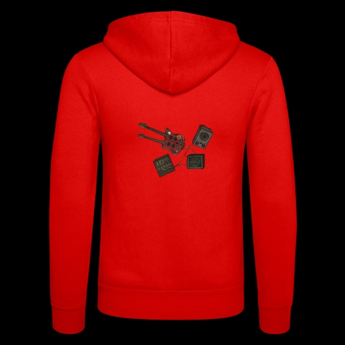 Music - Unisex Hooded Jacket by Bella + Canvas