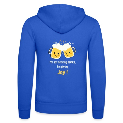 Giving Joy - Unisex Hooded Jacket by Bella + Canvas