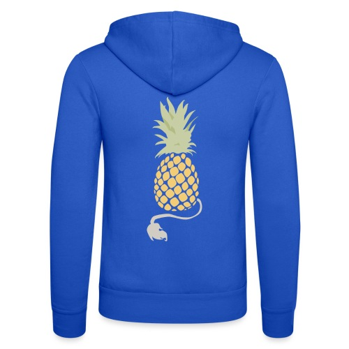 Pineapple demon - Unisex Hooded Jacket by Bella + Canvas