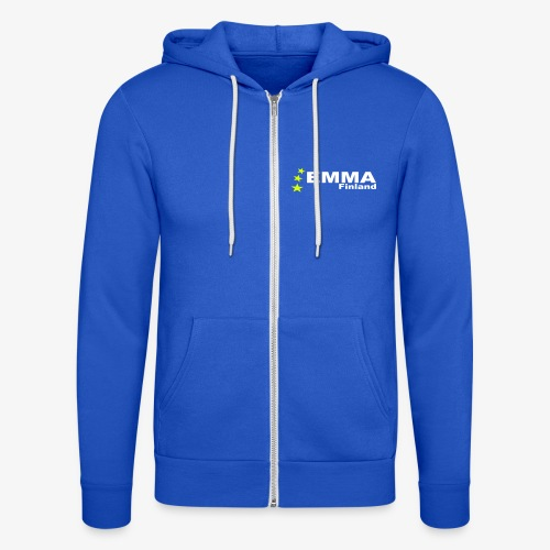 Emma Finland - Unisex Hooded Jacket by Bella + Canvas