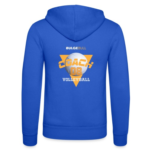 bulgebull volleyball - Unisex Hooded Jacket by Bella + Canvas