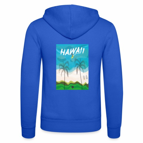 Hawaii - Unisex Hooded Jacket by Bella + Canvas