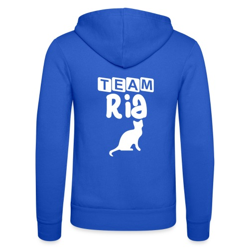 Team Ria - Unisex Hooded Jacket by Bella + Canvas