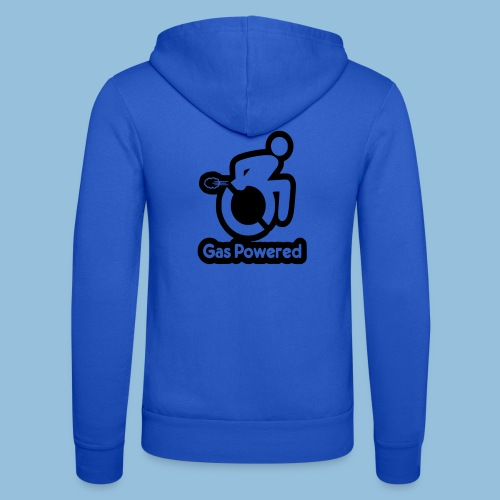 Gas Powered Wheelchair 001 - Unisex hoodie van Bella + Canvas