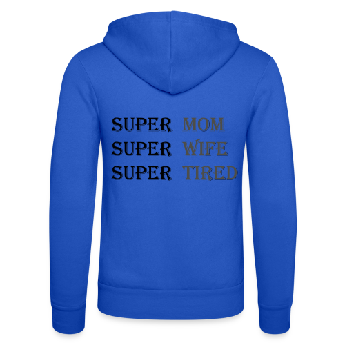 Super Mamma Collection - Unisex-hettejakke fra Bella + Canvas