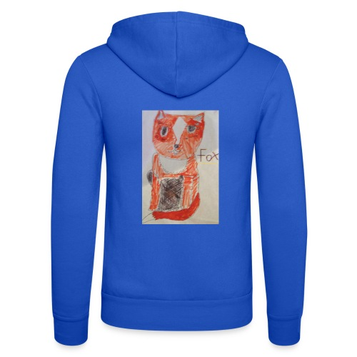 fox - Unisex Hooded Jacket by Bella + Canvas