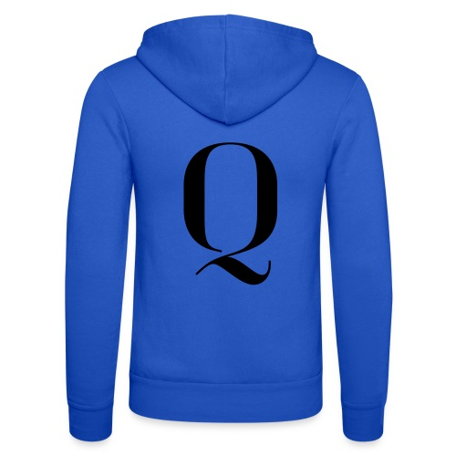Q - Unisex Hooded Jacket by Bella + Canvas