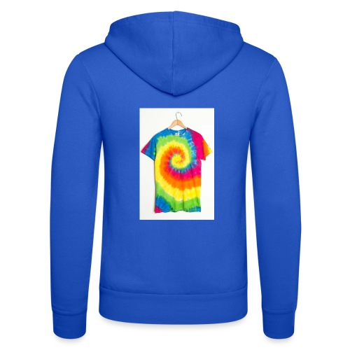 tie die small merch - Unisex Hooded Jacket by Bella + Canvas
