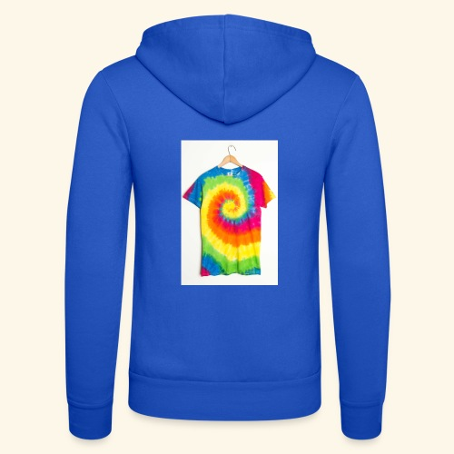 tie die - Unisex Hooded Jacket by Bella + Canvas