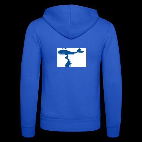 whale t - Unisex Hooded Jacket by Bella + Canvas