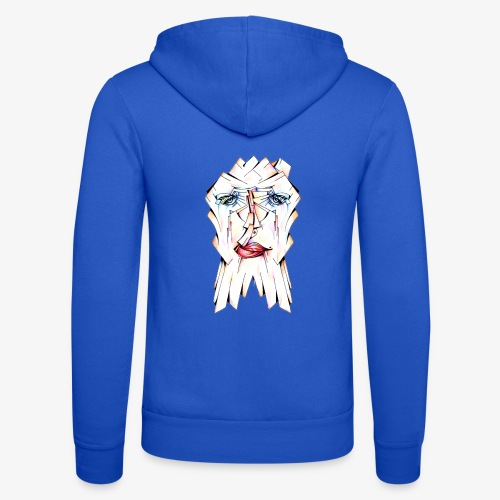 Pokerface - Unisex Hooded Jacket by Bella + Canvas