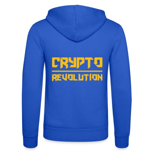Crypto Revolution III - Unisex Hooded Jacket by Bella + Canvas