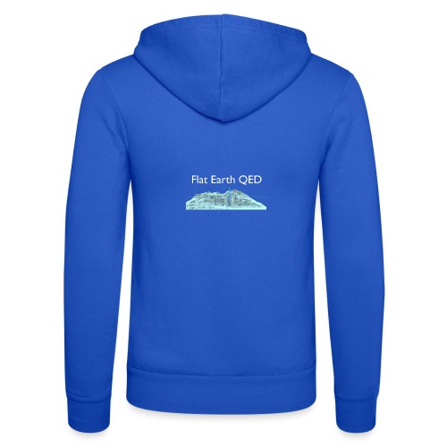 Flat Earth QED - Unisex Hooded Jacket by Bella + Canvas