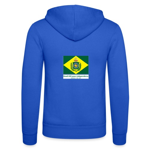 Brazil 200 years independence - Unisex-hettejakke fra Bella + Canvas