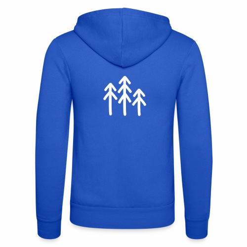 RIDE.company - just trees - Unisex Kapuzenjacke von Bella + Canvas