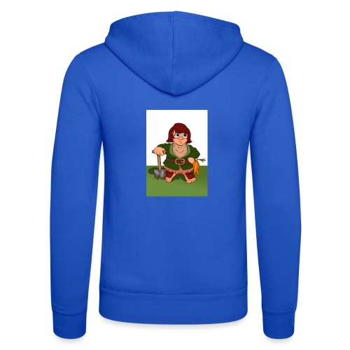 Petal's Potted Preserve - Unisex Hooded Jacket by Bella + Canvas