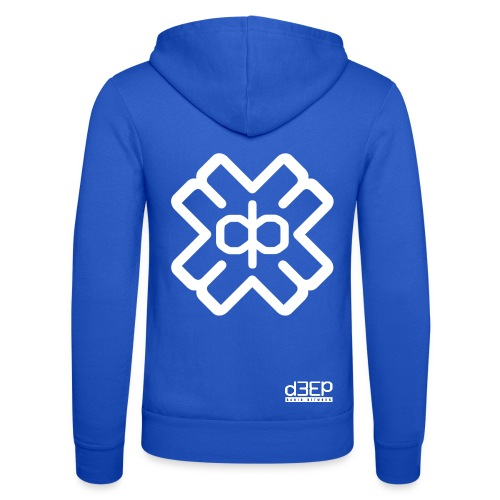 July D3EP Blue Tee - Unisex Hooded Jacket by Bella + Canvas