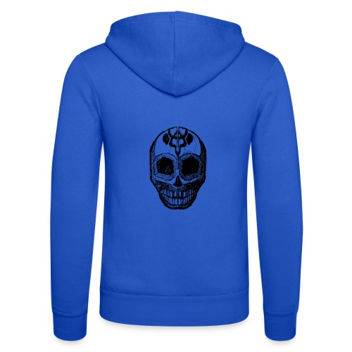 Skull of Discovery - Unisex Hooded Jacket by Bella + Canvas