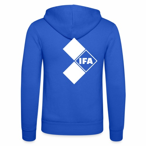 IFA logo - Unisex Hooded Jacket by Bella + Canvas